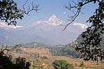 Непал, гималаи, Мачапучра (Machhapuchhre)