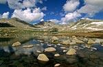 Озеро в истоках Малой Ульбы