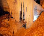 В пещере Высоцкого