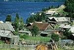 Россия, Тюменская область, Ханты-Мансийский автономный округ, река Обь, посёлок горнореченск