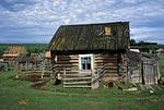 Россия, Тюменская область, Ханты-Мансийский автономный округ, река Ляпин, деревня Ломбовож.