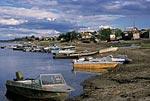 Россия, Тюменская область, Ханты-Мансийский автономный округ, река Ляпин, посёлок Саранпауль.