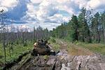 Россия, Тюменская область, Ханты-Мансийский автономный округ, дорога от Саранпауля к Неройке.