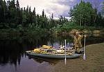 Россия, Сибирь, Иркутская область, река Катанга (Подкаменная Тунгуска), устье реки Чула.