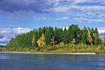 Россия, Хабаровский край, река Юдома, устье реки Тельги