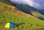 Россия, Кавказский природный биосферный заповедник, массив Джуга, перевал Аспидный