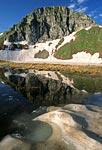 Россия, Краснодарский край, Кавказский природный биосферный заповедник, массив Джуга, Джугское озеро