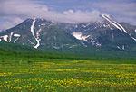 Россия, Камчатка, подножие горы Вачкажец