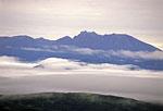 Россия, Камчатка, вулкан Ключевская сопка, северо-восточный склон, вид на гору Харчинская