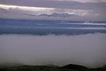 Россия, Камчатка, вулкан Ключевская сопка, северо-восточный склон, вид на долину реки Камчатка