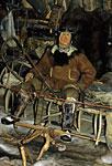 Россия, Камчатка, посёлок Эссо, Быстринский этнографический музей