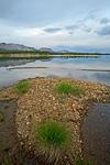Россия, Магаданская область, Сусуманский район, озеро Малый Дарпир, вид на Омулёвское среднегорье