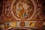 Фрески в одной из пещерных церквей на территории Музея под открытым небом в окрестностях Гёреме.