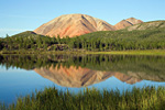 Россия, Якутия, республика Саха, Оймяконский улус, озеро в долине реки Лабынкыр