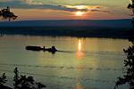 Россия, республика Саха (Якутия), река Лена, среднее течение, чуть ниже Ленска
