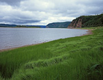 Россия, республика Саха (Якутия), река Лена, среднее течение, примерно напротив посёлка Тинная.