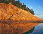 Россия, республика Саха (Якутия), река Лена, среднее течение, чуть выше Чапаево, устье реки Ура.