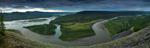Россия, Якутия, республика Саха, Момский район, река Индигирка, устье реки Сюрюктях