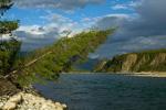 Река Чибагалах. Хребет Черского.